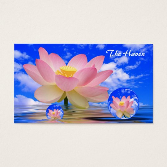 Lotus Flower Reflections & Bubbles of Peace Business