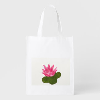 Lotus Flower Reusable Bag
