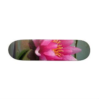 Lotus Flower Skate Board Deck