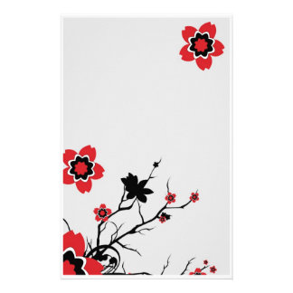 Lotus Flower Stationary Stationery