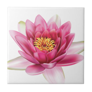 Lotus Flower Tile