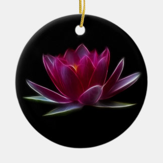 Lotus Flower Water Plant Christmas Ornament