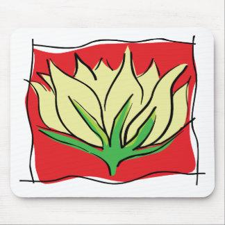 Lotus Flower Yoga Gift Mousepad