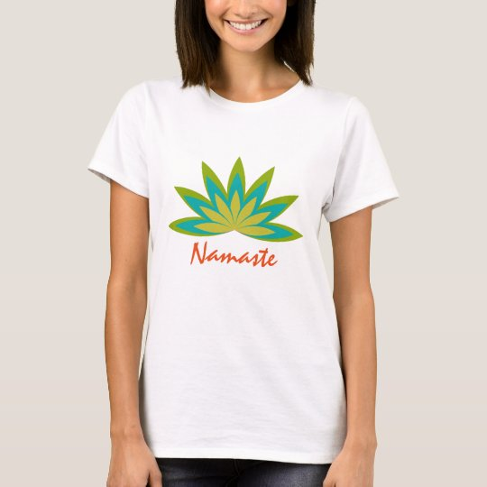 Lotus Flower Yoga Meditation Teacher Health T-Shirt