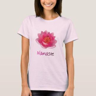 """Lotus Flower Yoga T-Shirt """"Namaste"""""""