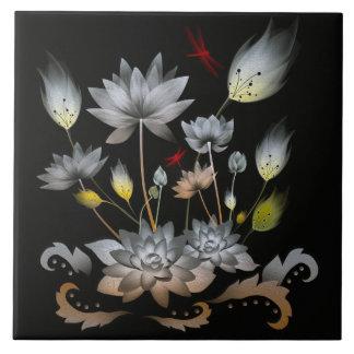 Lotus Flowers Ceramic Tiles