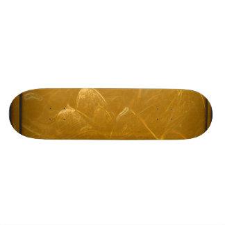 LOTUS Gold Leaf Skate Board Deck