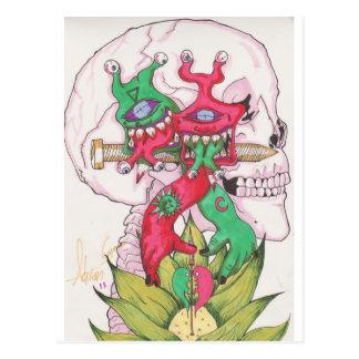 Lotus Hands Postcard