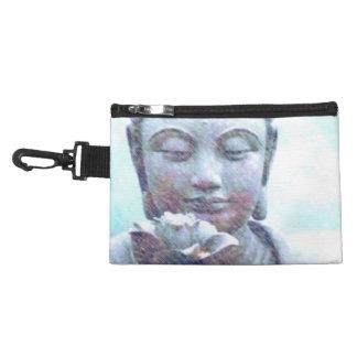 Lotus Heart Zen clip on accessory bag. Accessory Bag