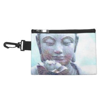 Lotus Heart Zen clip on accessory bag. Accessory Bags
