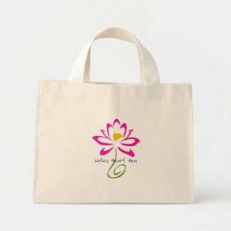 Lotus Heart Zen Mini Tote