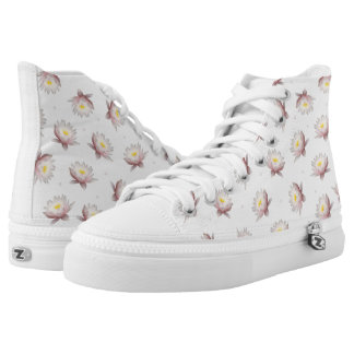 Lotus High Top Shoes