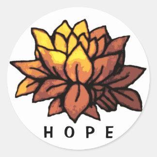 Lotus Hope Sticker