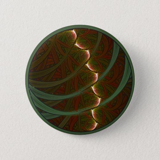 Lotus Horse Moon 6 Cm Round Badge