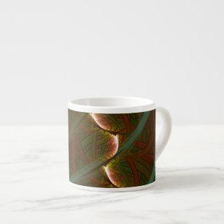 Lotus Horse Moon 6 Oz Ceramic Espresso Cup