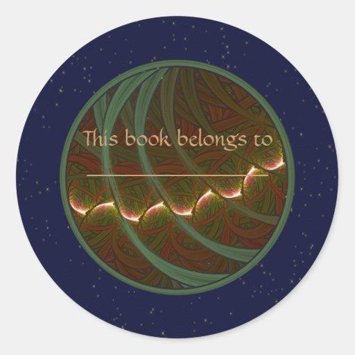 Lotus Horse Moon Sticker