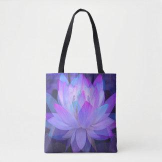 Lotus in Blue... Tote Bag