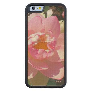 Lotus iPhone 6 Wood Case Maple iPhone 6 Bumper Case