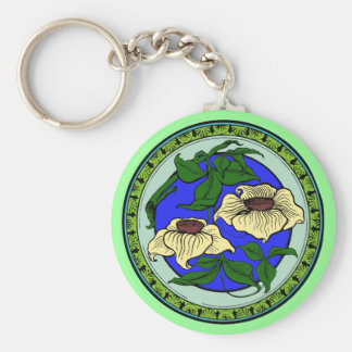 lotus key ring