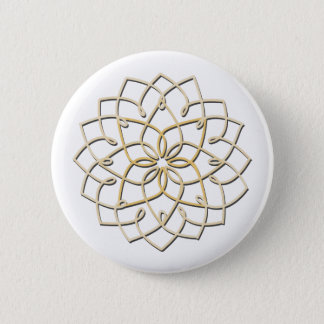 Lotus Knot Button (white)