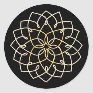 Lotus Knot Sticker