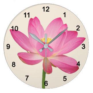Lotus Large Clock