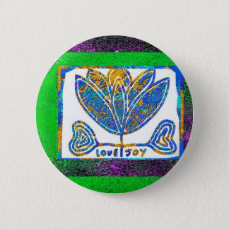 Lotus: Love and Joy 6 Cm Round Badge