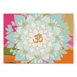 Lotus Mandala Greeting Card