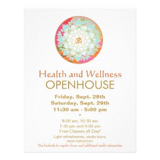 Lotus Mandala Health and Wellness Flyer