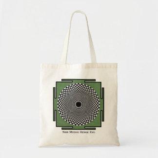Lotus mandala Nam Myoho Renge Kyo Budget Tote Bag