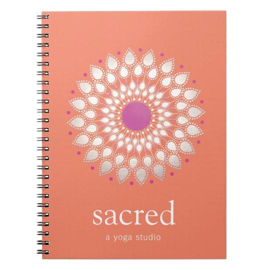 Lotus Mandala Natural Health & Wellness Therapist Notebook