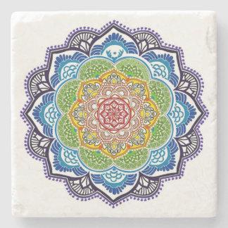 Lotus Mandala Spiritual Coasters