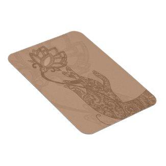 Lotus Mudra Mehndi Magnet
