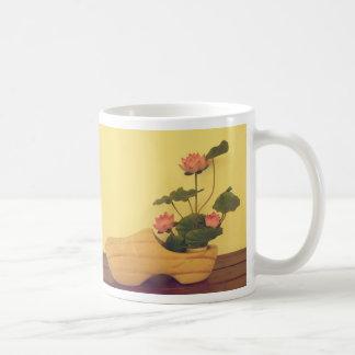 Lotus Basic White Mug