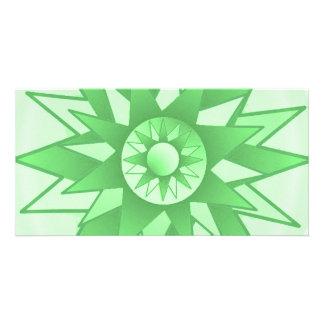 Lotus n Sun Chakra :  GOODLUCK Designs Customized Photo Card