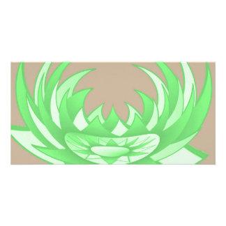 Lotus n Sun Chakra :  GOODLUCK Designs Custom Photo Card