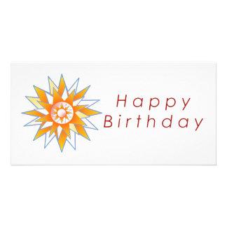 Lotus n Sun Chakra :  GOODLUCK Designs Photo Card