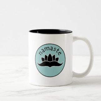 Lotus Namaste Mug