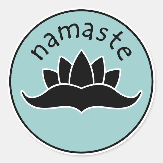 Lotus Namaste Stickers