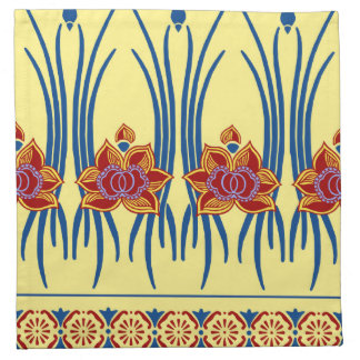 LOTUS NOUVEAU: JULY AFTERNOON NAPKIN