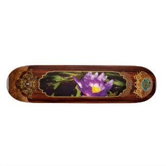 Lotus - Nymphaea  - Pleasant Day Skate Board