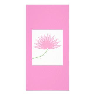 lotus-of-waves personalised photo card