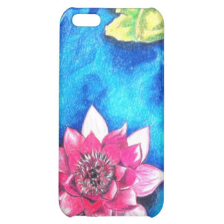Lotus painting iPhone 5C covers