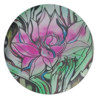 Lotus plate by Matty B