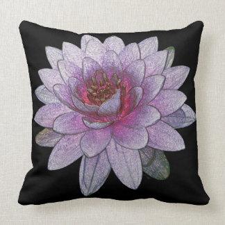 """Lotus Polyester  Throw Pillow 20"""" x 20"""""""
