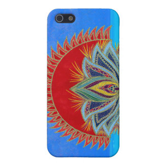 Lotus Sun iPhone 5 Covers
