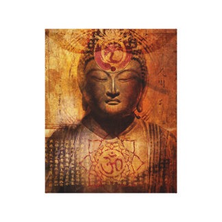 Lotus Sutra Wrapped Canvas Canvas Prints