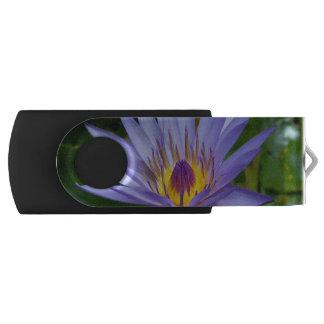 Lotus Swivel USB 2.0 Flash Drive