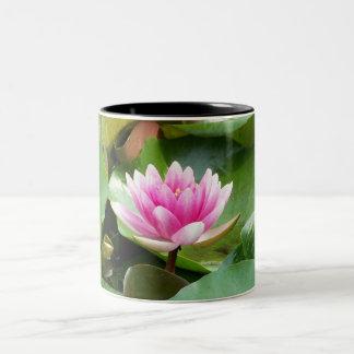 Lotus Two-Tone Coffee Mug