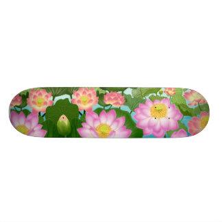 Lotus Water Lilies Skateboard